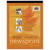 Pacon 3440 Art1st Newsprint Pads, 30 lbs., 9 x 12, White, 50 Sheets/Pad PAC3440 PAC 3440