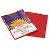 SunWorks Construction Paper, 58 lbs., 9 x 12, Red, 50 Sheets/Pack