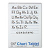 Chart Tablets w/Manuscript Cover, Ruled, 24 x 32, White, 25 Sheets/Pad