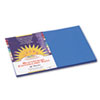 Construction Paper, 58 lbs., 12 x 18, Bright Blue, 50 Sheets/Pack