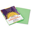Construction Paper, 58 lbs., 9 x 12, Light Green, 50 Sheets/Pack