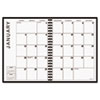 AT-A-GLANCE Recycled Monthly Planner, Jan.-Jan., Black, 7