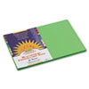 Construction Paper, 58 lbs., 12 x 18, Bright Green, 50 Sheets/Pack