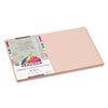 Peacock Sulphite Construction Paper, 76 lbs, 12x18, Light Brown, 50 Sheets/Pack