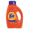 Ultra Liquid Tide Laundry Detergent, 50oz Bottle, 6/Carton