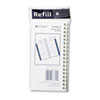 AT-A-GLANCE Recycled Weekly Appointment Book Refill, Hourly Ruled, 3-1/4 x 6-1/4, 2015