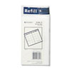 Recycled Monthly Planner Refill, 3-1/2 x 6-1/8, 2014-2015