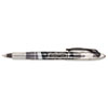 Paper Mate Liquid Flair Porous Point Stick Pen, Black Ink, Medium, Dozen