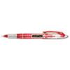 Paper Mate Liquid Flair Porous Point Stick Pen, Red Ink, Medium, Dozen