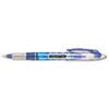 Paper Mate Liquid Flair Porous Point Stick Pen, Blue Ink, Medium, Dozen