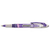 Paper Mate Liquid Flair Porous Point Stick Pen, Purple Ink, Medium, Dozen