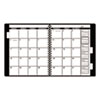 "Appointment Book Refill For Three- Or Five-Year Planner, Black, 9"" x 11"", 2013"