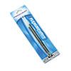 Paper Mate Refills for FlexGrip Elite & Ultra Ballpoint Pens, Medium, Black, 2/Pack