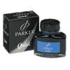 Super Quink Washable Ink for Parker Pens, 2 oz Bottle, Blue