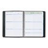 The Action Planner Recycled Weekly Appointment Book, Black, 8 1/8 x 10 7/8, 2013