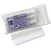 Removable Adhesive Label Holders, Side Load, 6 x 1, Clear, 10/Pack