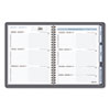 The Action Planner Recycled Weekly Appointment Book, 6-7/8 x 8-3/4, Black, 2013