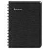 LifeLinks Recycled Weekly/Monthly Appointment Book, 9-1/2 x 11-3/4, Black, 2013