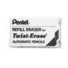 Pentel Eraser Refills, E10, 3/Tube