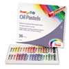 Pentel Oil Pastel Set With Carrying Case,36-Color Set, Assorted, 36/Set