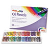 Pentel Oil Pastel Set With Carrying Case,45-Color Set, Assorted, 50/Set