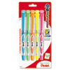 24/7 Highlighter, Chisel Tip, Blue/Green/Orange/Pink/Yellow Ink, 5/Set