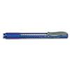 Pentel Clic Eraser Pencil-Style Grip Eraser, Blue