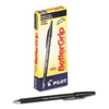 Pilot BetterGrip Ball Point Stick Pen, Black Ink, 1mm, Dozen