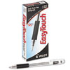 EasyTouch Ballpoint Stick Pen, Black Ink, Medium, Dozen