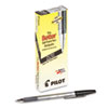Pilot Better Ballpoint Stick Pen, Black Ink, Fine, Dozen