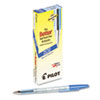 Better Ballpoint Stick Pen, Blue Ink, Fine, Dozen