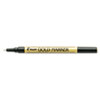 Creative Art & Crafts Marker, Brush Tip, Permanent, Gold
