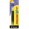 Pilot Refill for Precise V7 RT Rolling Ball, Fine Black Ink, 2/Pack