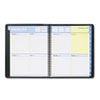 AT-A-GLANCE QuickNotes Recycled Weekly/Monthly Appointment Book, Black, 8