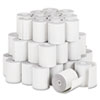 "Paper Rolls, Teller Window/Financial Roll, 3"" x 140 ft, White, 50/Carton"
