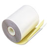"Paper Rolls, Teller Window/Financial, 3-1/4"" x 80 ft, White/Canary, 60/Carton"