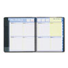 QuickNotes Recycled Weekly/Monthly Appointment Book, 8 x 9-7/8, Black, 2013