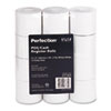 "Paper Rolls, Two-Ply Receipt Rolls, 2-1/4"" x 90 ft, White/White, 12/Pack"