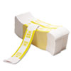 PM Company Color-Coded Kraft Currency Straps, $10 Bill, $1000, Self-Adhesive, 1000/Pack