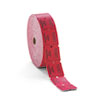 PM Company 59003 Consecutively Numbered Double Ticket Roll, Red, 2000 Tickets/Roll PMC59003 PMC 59003