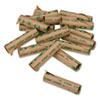 Preformed Tubular Coin Wrappers, Dimes, $5, 1000 Wrappers/Carton