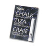 Alpha Nontoxic Low Dust Chalk, White, 12 Sticks/Pack