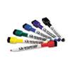 Quartet Low-Odor ReWritables Dry Erase Mini-Marker Set, Fine Point, Classic, 6/Set