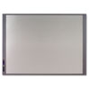 InView Custom Whiteboard, 47 x 35, Graphite Frame