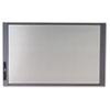 InView Custom Whiteboard, 37 x 23, Graphite Frame