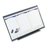Total Erase 3-Month Modular Planning System, 36 x 24, Aluminum Frame