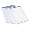 Conference Cabinet Flipchart Pad, Plain, 21 x 33-7/10, WE, 50-Sheet, 4/Carton