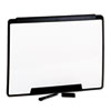 Motion Portable Dry Erase Board, 24 x 18, White, Black Frame