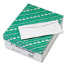 Business Envelope w/Traditional Seam, #10, White, 500/Box