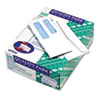 Double Window Security Tinted Check Envelope, #8, White, 500/Box